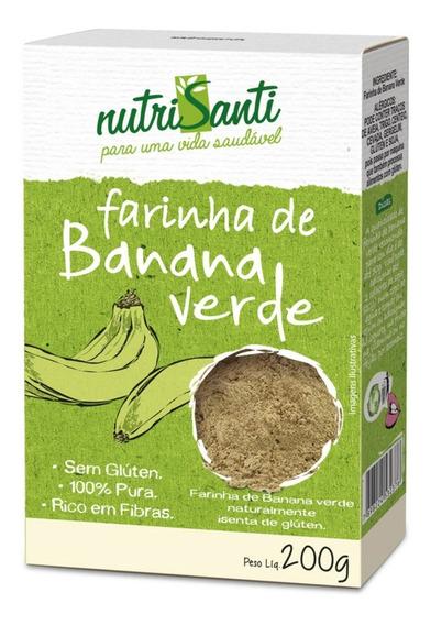 Farinha De Banana Verde 200g Trisanti
