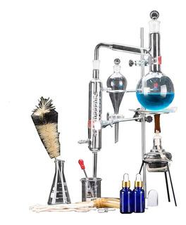 Destilador Aceites Esenciales 500ml Kit Completo