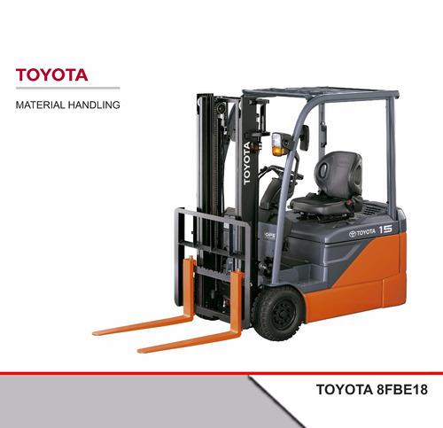 Autoelevador Eléctrico Toyota 8fbe18 1,8tn 3 Ruedas 0 Hs