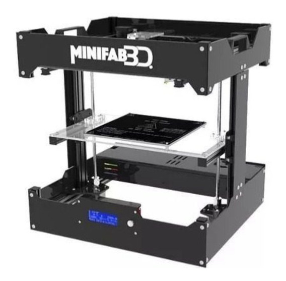 Impresora Minifab 3D Elite color negro 110V/240V con tecnología de impresión FDM