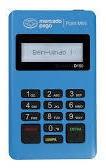 Imagem 1 de 3 de Kit 10 Maquina De Cartão Mini Point Azul D150