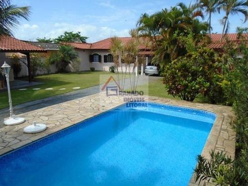 Imagem 1 de 15 de Casa Para Venda Em Itanhaém, Balneário California, 4 Dormitórios, 1 Suíte, 3 Banheiros, 7 Vagas - 252_1-1176988