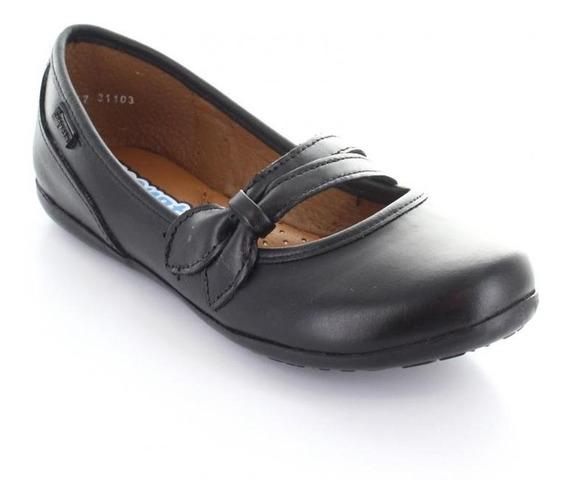 Balerina Para Niña Coqueta 31103-a-041310 Color Negro