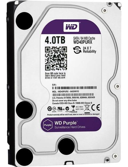 Disco Duro Interno Western Digital Purple - 4tb - 3.5 -sata