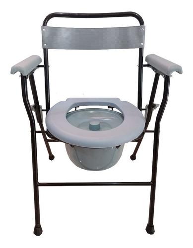 Silla Baño Portátil Discapacitados - Comodo Ligero