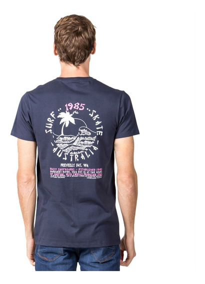Remera Hombre Rusty Surf Mieng