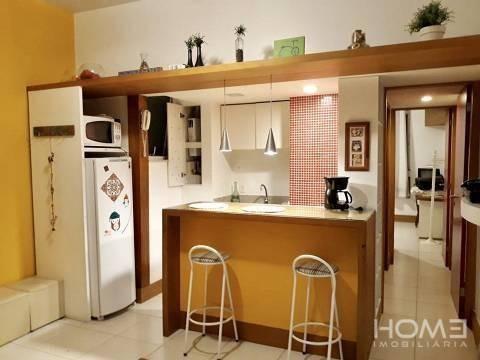 Imagem 1 de 8 de Lindo Apartamento Mobiliado 1 Dormitório À Venda, 40 M² Por R$ 550.000 - Copacabana - Rio De Janeiro/rj - Ap2309