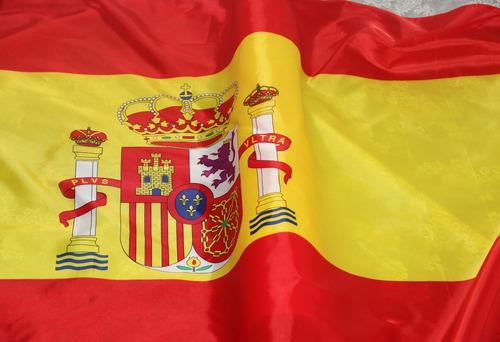 Bandeira Espanha 1,50x0,90m Pronta Entrega