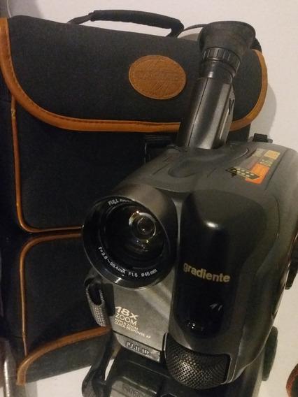 Filmadora Gradiente Gcp-165cr C/ Case E Bateria