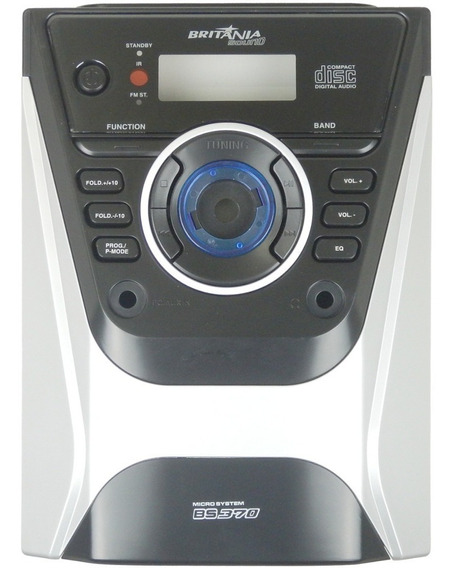 Kit 4pcs Painel Frontal Micro System Britânia Bs370 Versão A