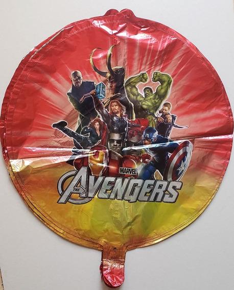 Avengers Vengadores Globos Metalizados Cotillon Deco Cumple