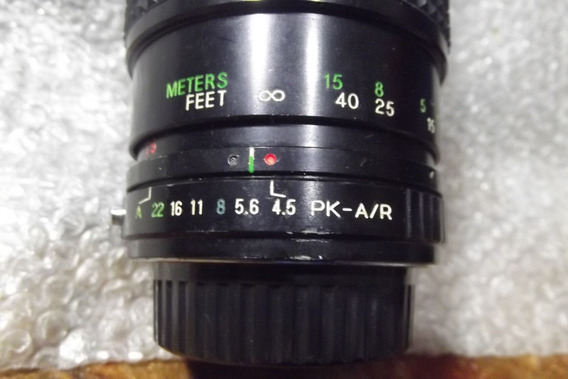 Lente Zoom 75-300mm Sakar, P- Pentax, Ricoh, Etc . Manual