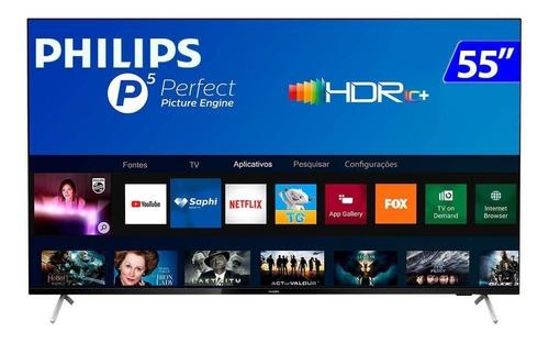 "Imagem 1 de 5 de Smart TV Philips 7600 Series 55PUG7625/78 LED 4K 55"" 110V/240V"