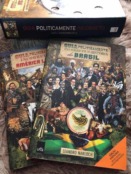 Box Livros Guia Politicamente Incorreto