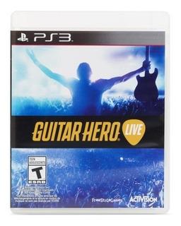 Guitar Hero Live Ps3 Solo Videojuego Envio Gratis