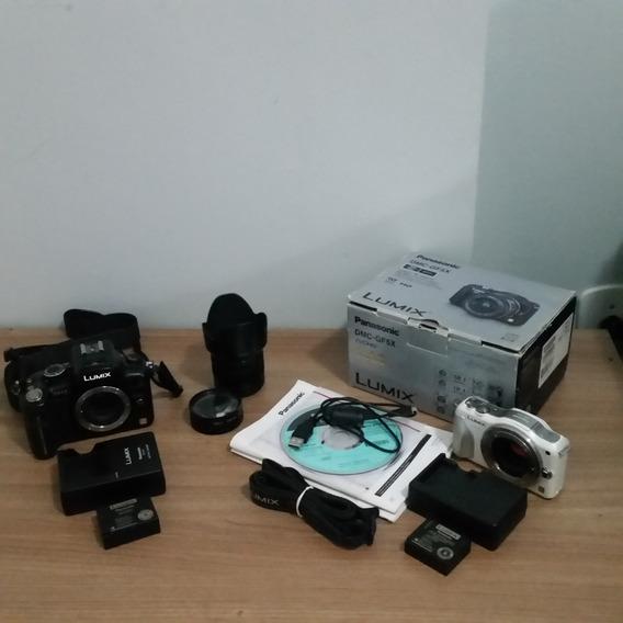 Panasonic Lumix Gh2 + Lente Lumix 14-42mm G Ii + Lumix Gf5