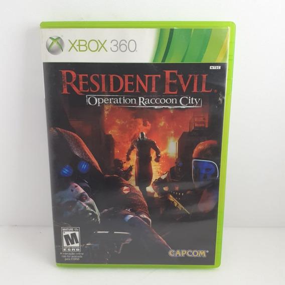 Jogo Resident Evil O. Raccon City Xbox 360 Original