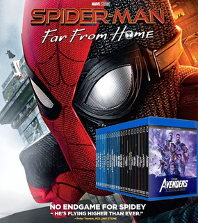 Blu-ray Marvel Colección 24 Films / Incluye Far From Home