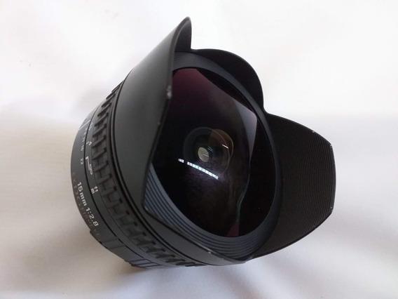 Lente Sigma Fisheye 15mm F2.8 Nikon