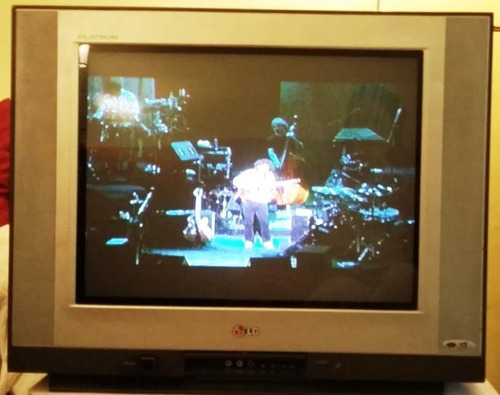 Tv Pantalla Plana 21 LG Flatron Con Control Remoto Muy Buena