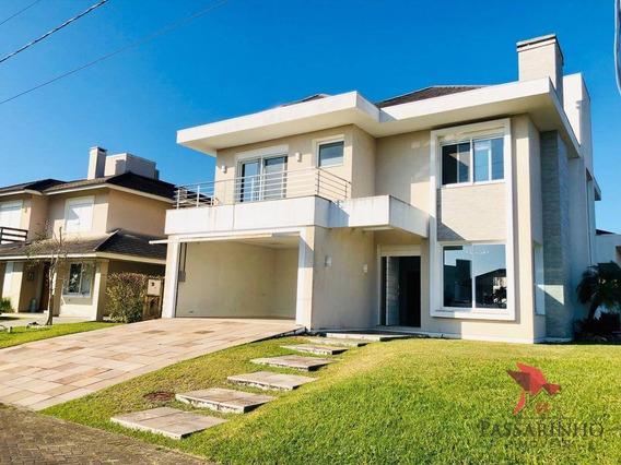 Sobrado Com 5 Dormitórios À Venda, 320 M² Por R$ 1.500.000,00 - Praia Itapeva - Torres/rs - So0026