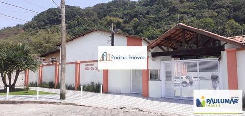 Casa De Condomínio Com 2 Dorms, Pedreira, Mongaguá - R$ 200 Mil, Cod: 858252 - V858252