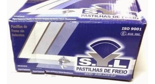 Imagem 1 de 1 de Kit Pastilha Freio Dianteira Malibu 2010 2011