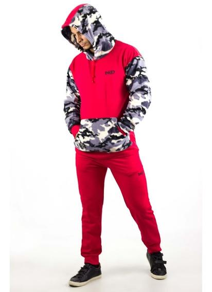 Conjunto Jogger Sweaters Caballeros Inked Algodon Detal