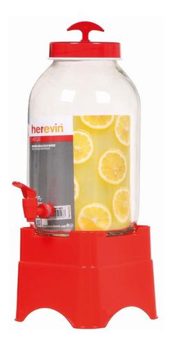 Imagen 1 de 5 de Dispensador De Bebidas Agua 5l Herevin Con Base