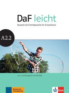 Daf Leicht A2.2 - Kursbuch + Ubungsbuch + Dvd-rom