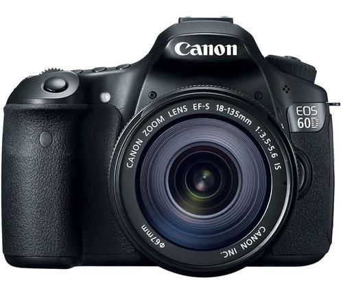 Camera Fotográfica Canon Eos 60d Com Lente Efs 18-135mm