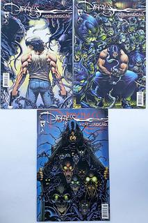 Darkness Ressurreição Mythos Mine-serie 3 Hq Frete Grátis