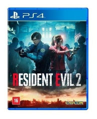 Jogo Resident Evil 2 Para Ps4