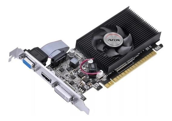 Placa De Vídeo Geforce Afox G210 1gb Af210-1024d3l8(ddr3)