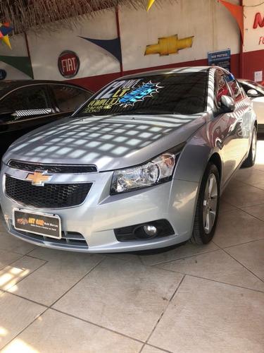 Chevrolet Cruze Lt 1.8 2012 (prata) (automático) (flex)