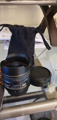 Lente Nikon Fish Eye 10.5mm 2.8 Dx Ed
