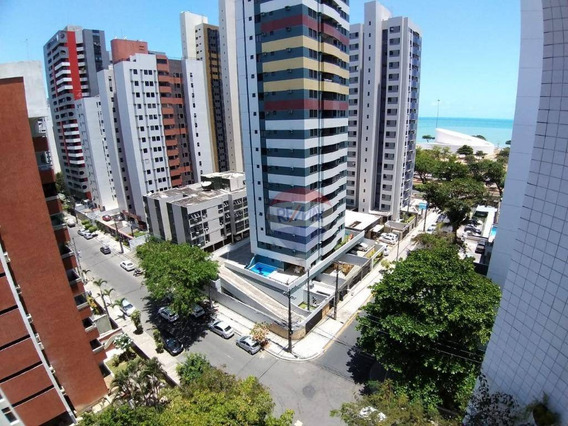 Vendo Apartamento Reformado Com 3 Quartos, 1 Suite, Vista Para O Mar, Em Boa Viagem. - Ap1238