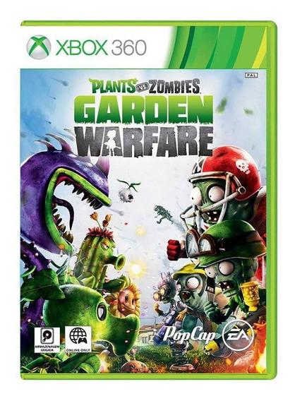 Plants Vs Zombies Garden Warfare - Xbox 360 - Usado Original
