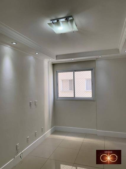Apartamento Com 2 Dormitórios Para Alugar, 55 M² Por R$ 1.000,00/mês - Jardim Clementino - Taboão Da Serra/sp - Ap0083