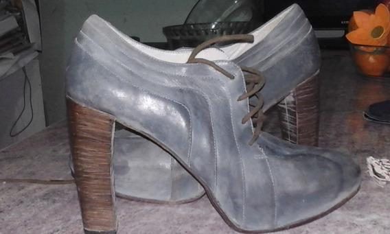 Zapatos Mujer Abotinados Ferraro