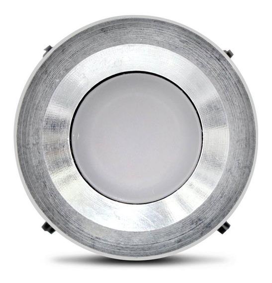 Balizador De Solo Dot Spot 2w Led Branca Quente 3000k Bivolt