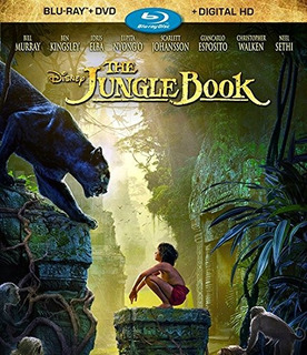 Blu-ray : - The Jungle Book (with Dvd, Dubbed, Digital...