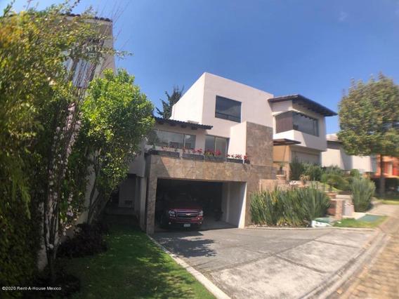 Casa En Venta En Club De Golf Los Encinos, Lerma, Rah-mx-20-1513