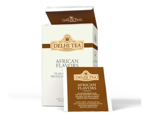 Te Premium Delhi Tea X 20 Saq. African Flavors