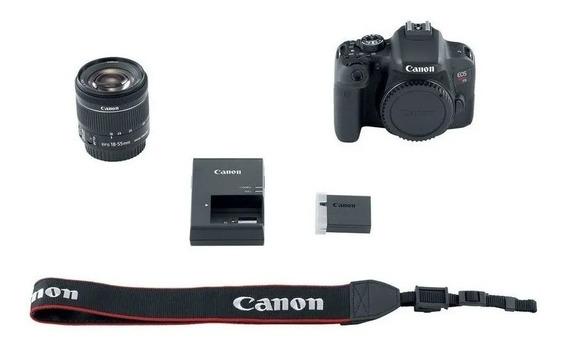 Câmera Canon T7i Kit 18-55mm F/3.5-5.6 Stm Garantia 1 Ano