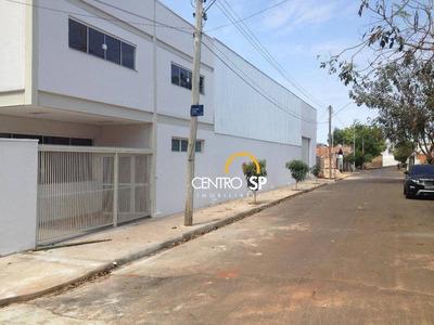 Barracão Comercial À Venda, Jardim Rosas Do Sul, Bauru. - Ba0084