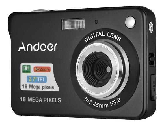 Andoer 18m 720p Hd Câmera Digital Vídeo Camcorder Com 2pcs
