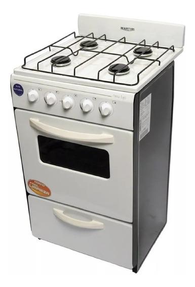 Cocina Martiri New Lujo Black 4 Hornallas 51 Cm Udg Cuotas