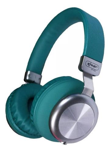 Fone de ouvido sem fio Knup KP-452 verde