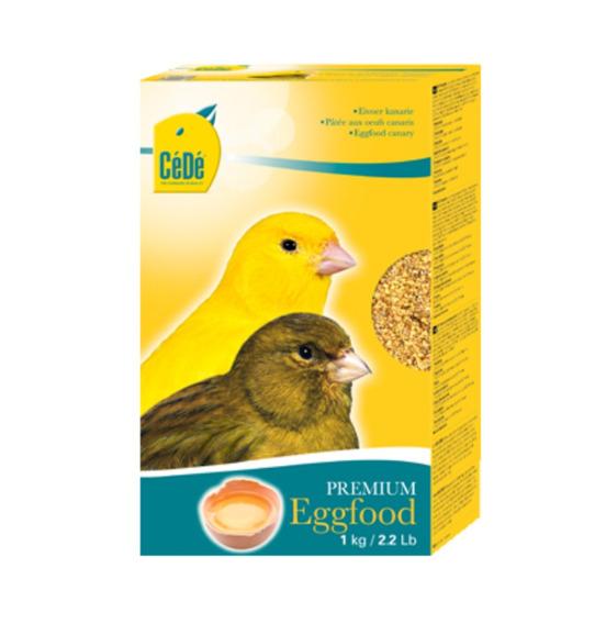 Eggfood Canaries (canários) 1kg - Cédé